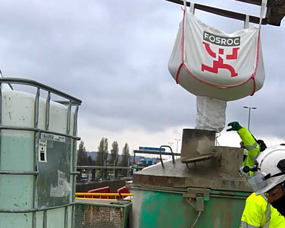 UK's Award Winning Concrete Repair Contract supplied by Fosroc