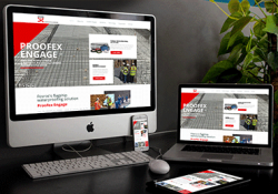 Proofex Engage Microsite