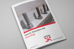 Fosroc Grouting Front Cover