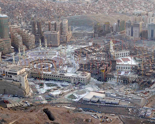 The Holy Mosque Expansion, Saudi Arabia | Fosroc
