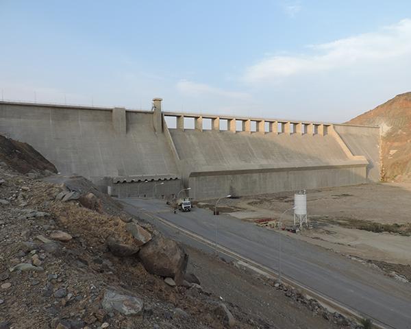 Hali Dam, Saudi Arabia | Fosroc